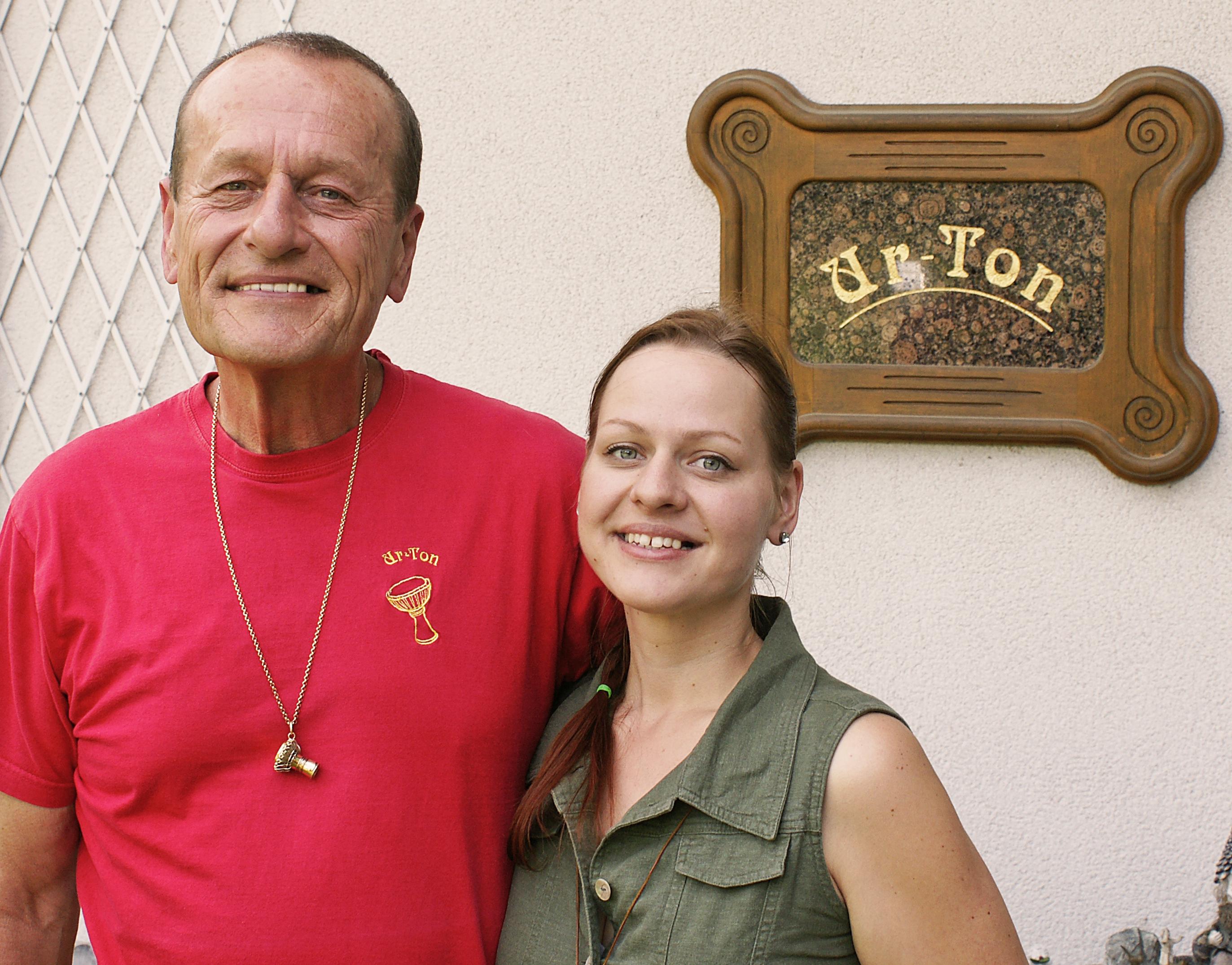 U-Ton Trommler Kurt und Nora Kickinger